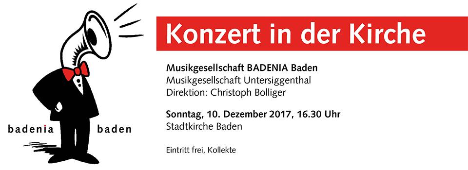 Adventskonzert 2017 – Stadtkirche Baden